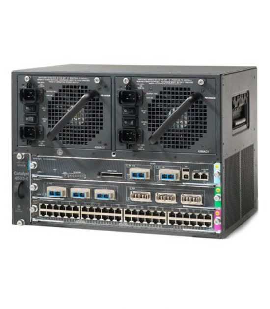 Cisco WS-C4503-E chassis and linecards